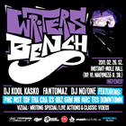 2011-02-26 - Kriminal & Wacuum Klub - WRITERS BENCH  RELOADED!